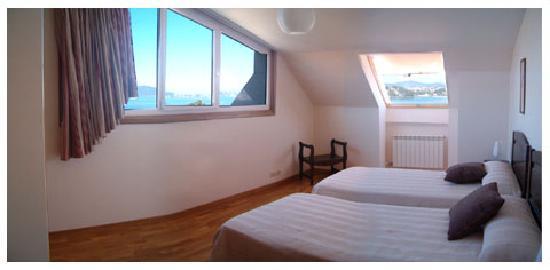 Mirador Ria de Bayona: Dormitorio