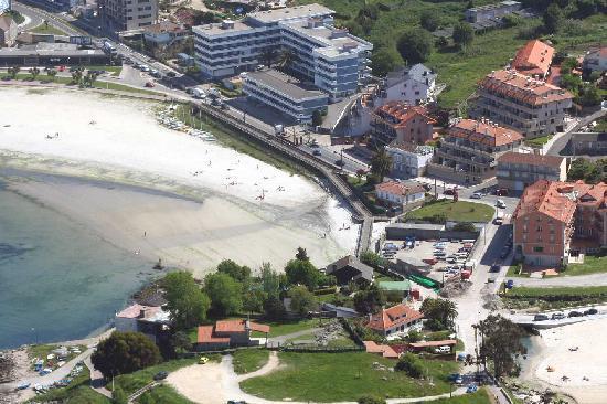 Mirador Ria de Bayona: Vista aérea 2