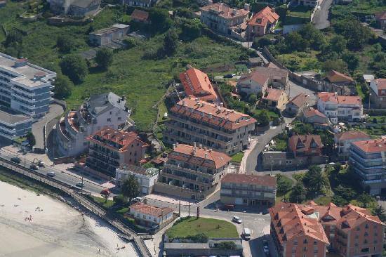Baiona, Spain: Vista aérea 3