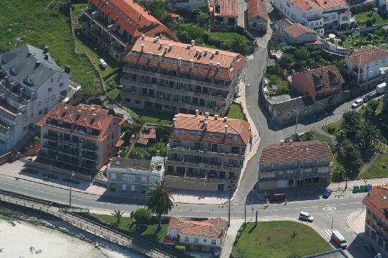 Mirador Ria de Bayona: Vista aérea 4