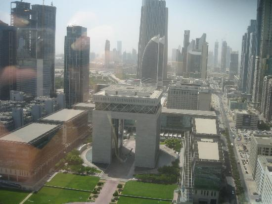 Jumeirah Emirates Towers: The view from the room