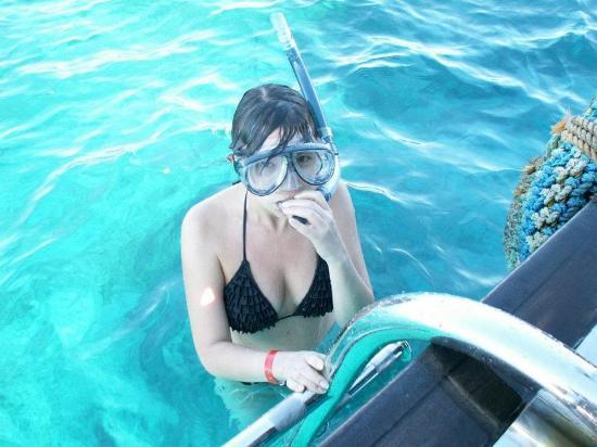 Nabq Bay, Egypt: Маска и трубка - главное что нужно в море