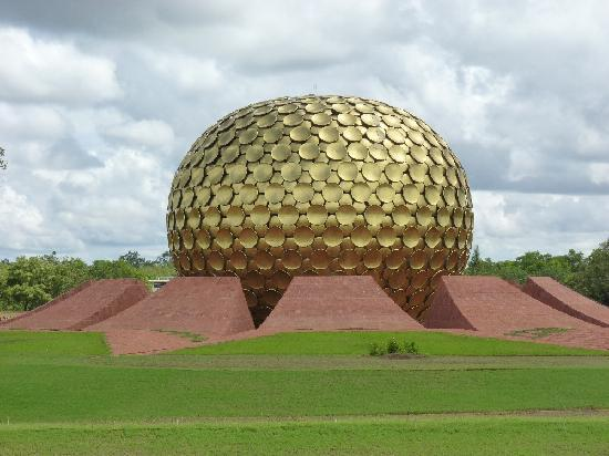 Pondicherry, India: Matrimandir