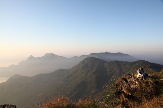 Phu Chi Fa Forest Park : sunrise !