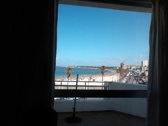 Hotel Bakari: Vista desde el desayuno