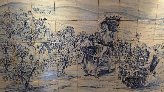 Wine Museum : Tiles