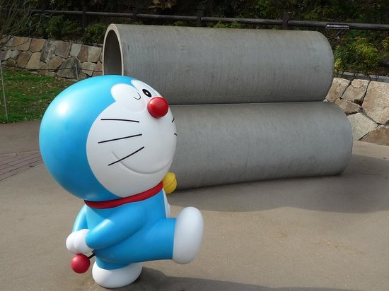 Fujiko F Fujio Museum: 空き地の土管