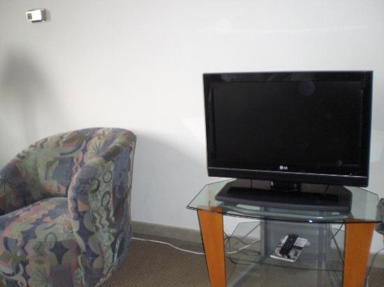 Georgetown Suites: Flat screen TV