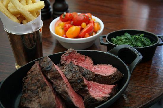 Hawksmoor Spitalfields: Steak and Sides