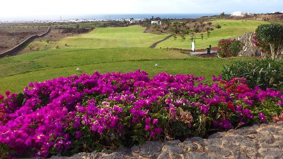 Lanzarote Golf: behind the 1st tee