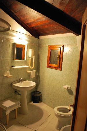 Hotel Villa Bonelli: Our bathroom