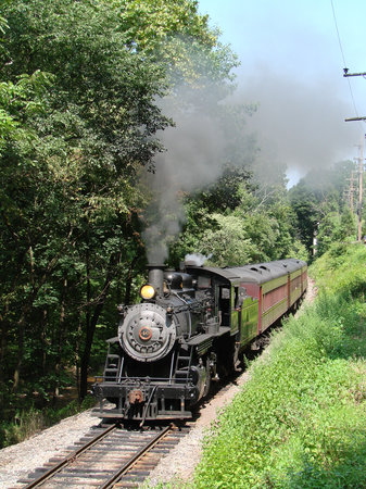 New Hope, Pensilvanya: Hourly Excursion Train pulled by #40