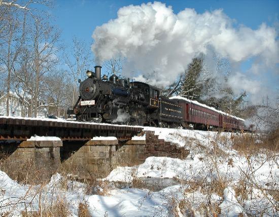 New Hope & Ivyland Railroad : North Pole Express