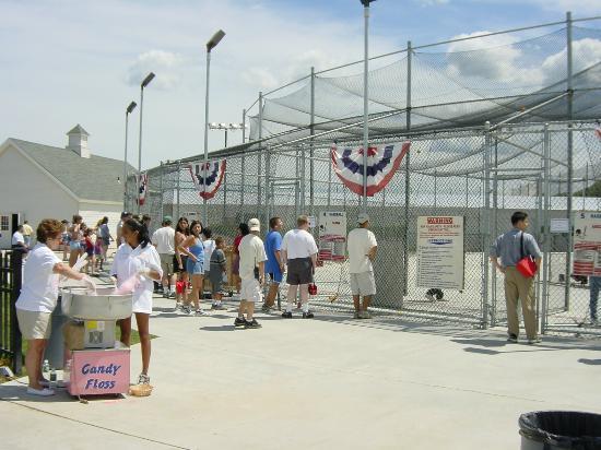 Country Fair Entertainment Park: Batting cages