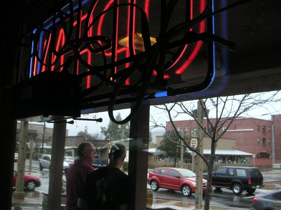 Swing Inn Cafe: Window Seat Facing West on Front Street