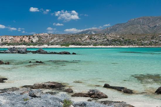 Playa de Elafonisi: elafonissi beach