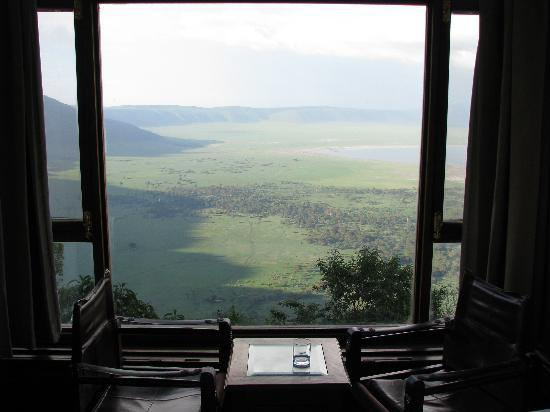 Ngorongoro Wildlife Lodge: Amazing View