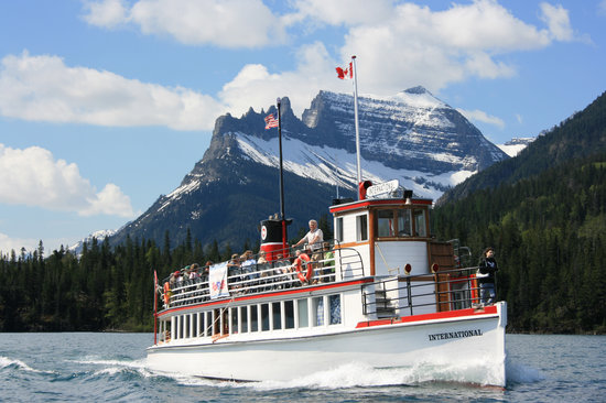 Waterton Lakes National Park, Canada: The Historic M.V. International