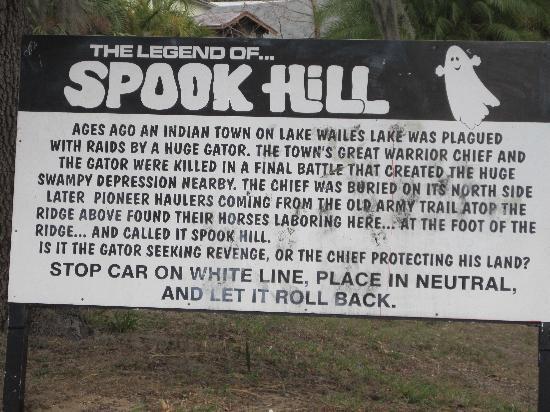 Spook Hill Legend