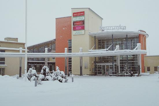 Laukaa, ฟินแลนด์: Вход в отель
