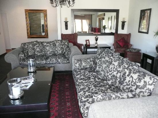 Swartberg Country Manor : lounge
