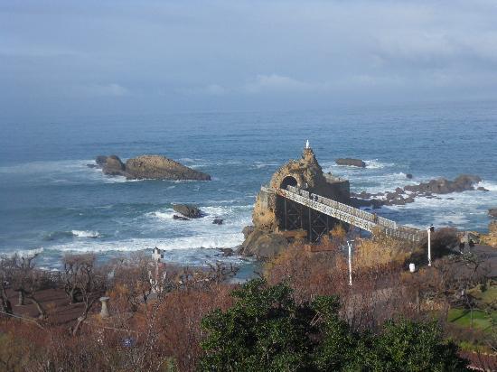 Hotel Le Biarritz : rocher de la vierge (biarritz)