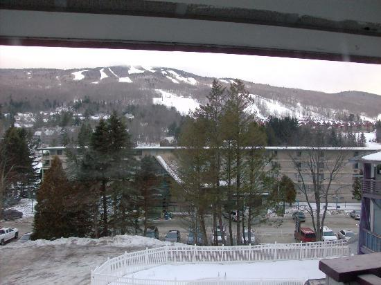 Lodge at Mount Snow: View from room