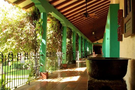 Hotel El Convento: One of our corridors