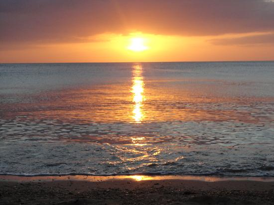 Lanta Riviera Resort: tramonto