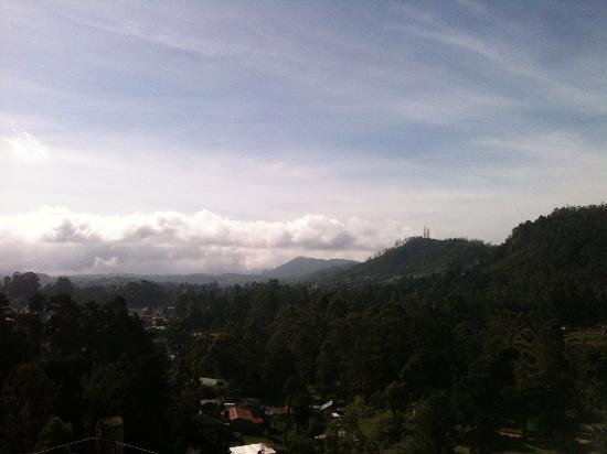 Hill View Bungalow: La vue