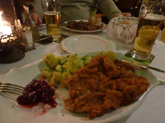 Goldener Hirschen: cotoletta