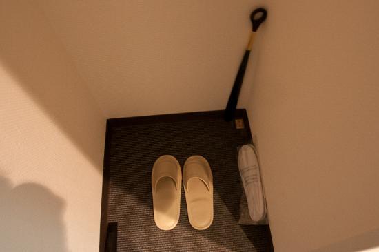 Hotel Wing International Shin-Osaka: 使い捨てあるのは◎