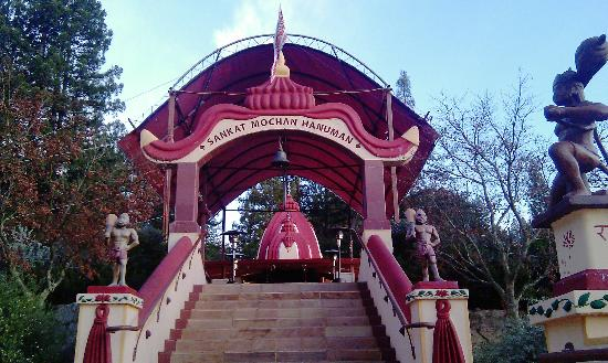 Mount Madonna Center: Hanuman temple