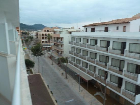 Hotel Sabina: Blick auf die Stadt