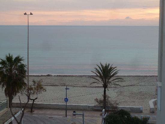 Hotel Sabina: Blick aufs Meer