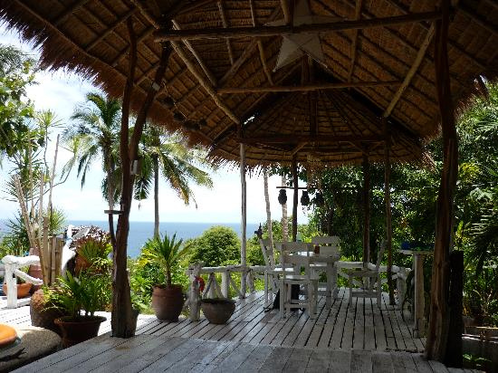 Sairee View Resort: Terasse