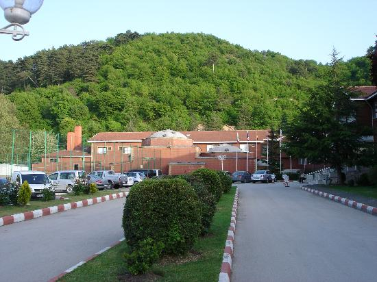 Bolu Termal Otel: Termal Bolu outside (spa building visible)