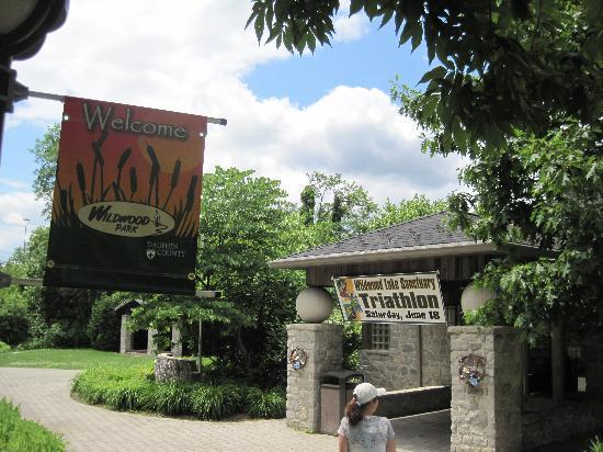 Wildwood Park: Park Entrance