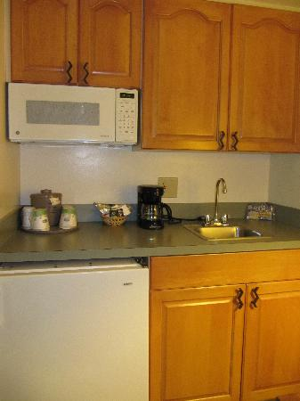 Red Lion Inn & Suites Phoenix-Tempe: Details of kitchenette