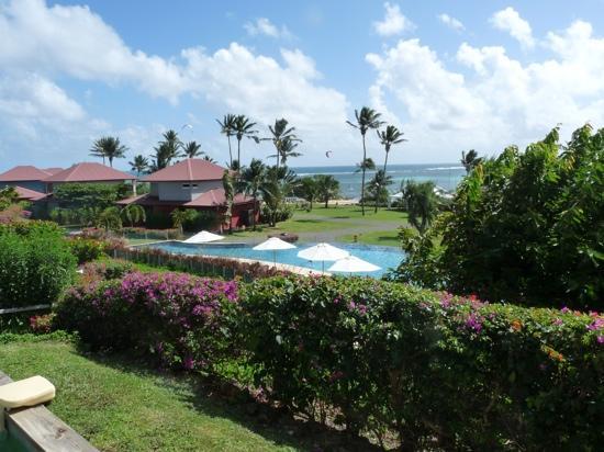 Le Cap Est Lagoon Resort & Spa: vue de notre suite