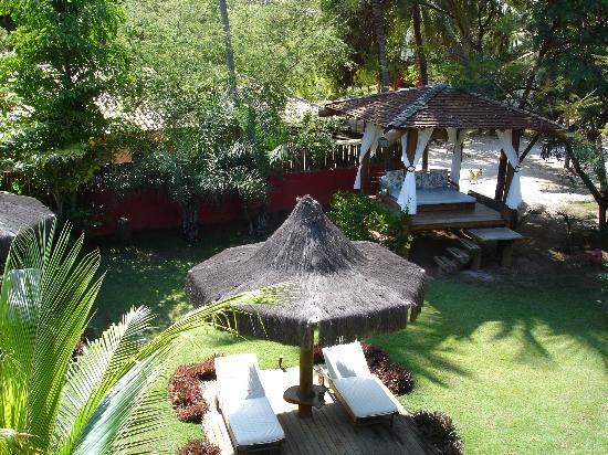 Pousada Aloha Brasil: Jardín
