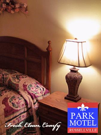 Park Motel Russellville : Fresh, Clean, Affordable
