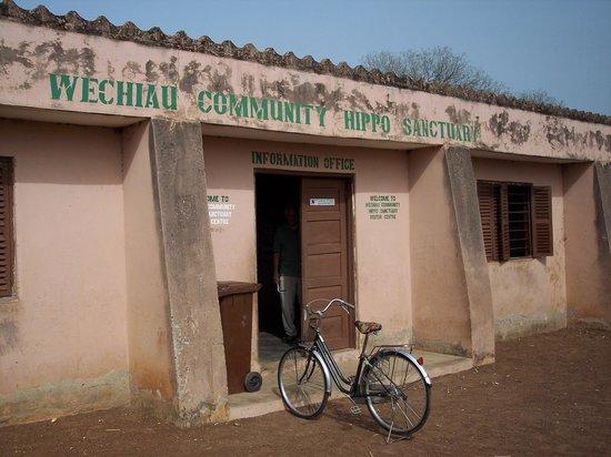 Wa, Ghana: Weichiau Hippo Sanctuary Visitor Center