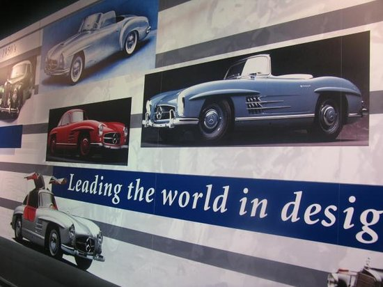 Kemp Auto Museum: The wall of time