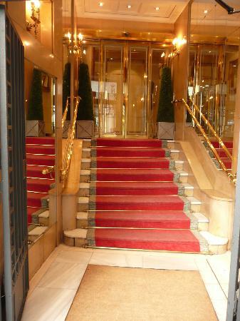 Hotel Regente: Hotel entrance