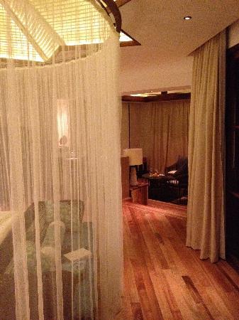 Jumeirah Vittaveli: Comfy bed