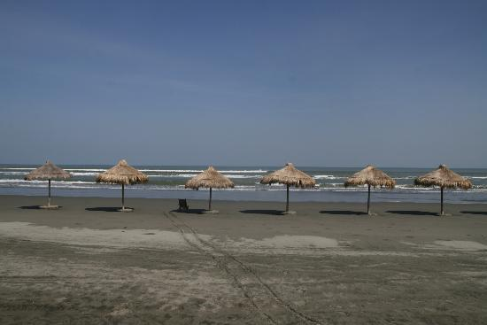Lingayen, Philippines: The private Beach