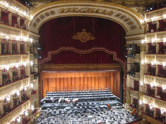 Teatro di San Carlo : Interior