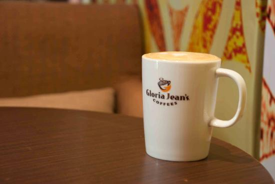 Gloria Jeans coffee art - Picture of Gloria Jeans BKK, Phnom Penh ...