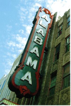 Alabama Theatre: Alabama Theater Sign